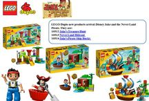 LEGO Duplo Disney Jake & the Never Land Pirates / Three LEGO items arrival