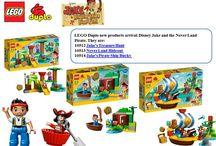 LEGO Duplo Disney Jake & the Never Land Pirates / Three LEGO items arrival