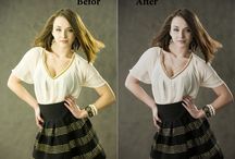 Color Correction / Multi clipping path and color correction