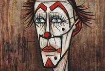 clown drawings
