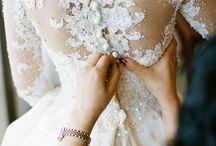 wedding dresses & ring