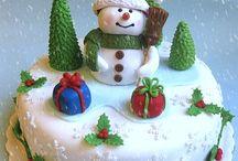 suikerpasta kerst