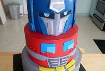 Transformer Cake / by Fancy Fondant Cakes by Emily Lindley