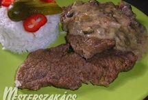 marhahúsból készült