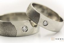 What we do! / Here's some of your past projects. A lot more to come! Unique fingerprint ring by vowsmith.com