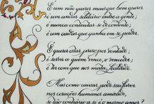 caligrafia antiga