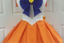 Sailor venus dress / My cosplay plans