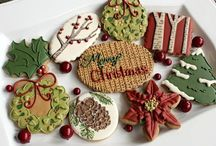 Cookie natal decorado