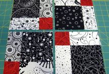 Zwarte quilt / Zwarte quilt