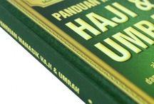 Buku Haji dan Umrah (Manasik) / Buku yang berisi panduan-panduan haji dan umrah (manasik) serta penjelasan-penjelasan yang jelas disertakan hadits-hadtis shahih.