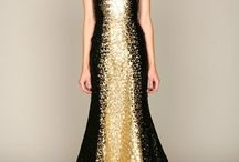 Black & Gold / The striking color combination of Black + Gold