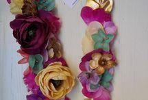 Cintos flores artesanos