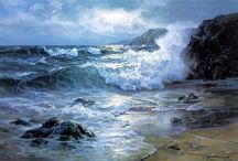 Живопись Море
