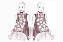 fashion illustration / fashion illustration  fashion artists fashionworld