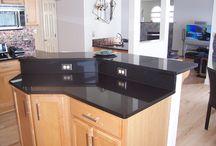 Kitchen Granite Countertops / New Stone Age work and ideas for Design