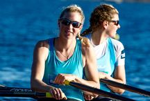 NZ Double Scull / Zoe and Eve