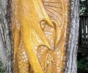 Wood Carvings / Wood Carving Done By Hand