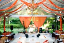 Orange // Weddings + Events / Everything Orange and Lovely for your Special Day