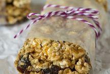 popcorn snacks / by Reggie Kelley