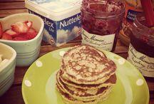 Eggless Vegetarian Pancakes / Eggless pancake recipes for vegetarians