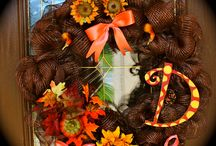 things I made / Fall Wreath!!!!