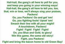 Packers and badgers / by Susan Lemke-Lasiuk