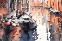 Christian Graniou-Watercolours