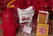 firefighter bday party / by Beth Cole