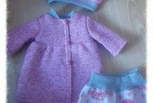 kreativní tvorba rena / oblečky na baby Born
