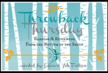 Throwback Thursday: YA Book Reviews / Throwback Thursday is a feature at I Heart YA Fiction where participants read & review older titles and/or books that have been on our shelves for awhile!