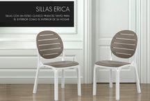 MUEBLES EXTERIOR & INTERIOR / Muebles diseñados tanto para el exterior como para el interior.