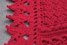 Crocheted Throws, Afghans & Blankets / by Diana McAdams
