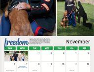 service dog calendar