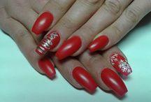 Nails art / Nails art for Christmas!!