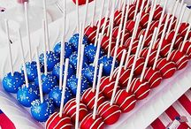 Red, white and blue / by Emily Staadecker