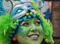 schmink en carnaval