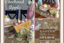 GIVEAWAYS @ The Checkered Apple