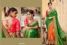Beautiful Designer Bridal Saree Collection