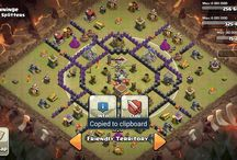Clash Of Clans / The game we play. Bases, victories, opponents etc