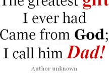 Proud Dad Quotes / Quotes by dads, about dads and their family. At ProudToBeADad.com we put dads first. Here we reflect on the special parenting bonds between dads and their kids.