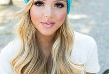colorful winter caps