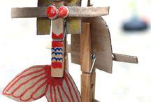 kids' crafts inspiration / crafts which makes kids happy