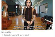 Marilyn Manson is sexy asf / I love Marilyn manson