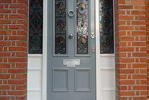 Front door/ Porch