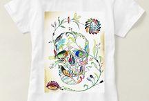 Camisetas Caveiras Mexicanas