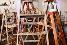 Ladder Food Station