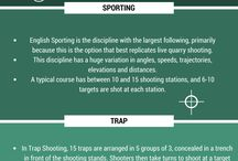 Clay Pigeon Shooting / Our board dedicated to clay pigeon shooting explores all the disciplines, offers top tips and plenty more!
