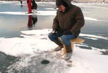 Изменить описание Ловля окуня на протоке. Зимняя рыбалка. Изготовление снастей.