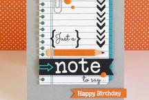 cards I adore:  birthday / by Amy Tsuruta
