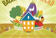 The Chickens and Veggies: The Homestead